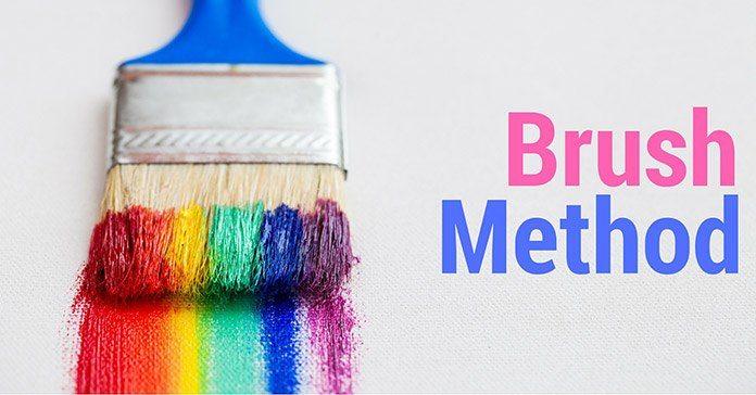 Brush Method